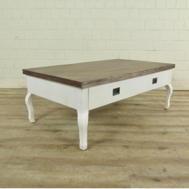 Coffee table Lina Country house style 1,20 m x 0,70 m