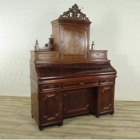 Sekretär Biedermeier 1850 Mahagoni