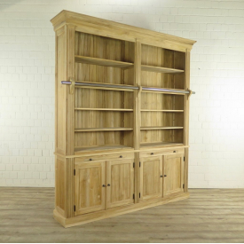 Book case 2,42 m Teak wood