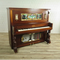 Stafford Nickelodeon Company Player Piano / Pianola Mahagoni