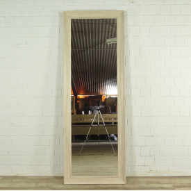 Wall mirror Oak wood 0,75 m x 2,11 m