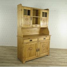 Kitchen cabinet  Jugendstil from 1910 pine wood