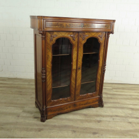 Vertico Biedermeier from 1850 Mahogany
