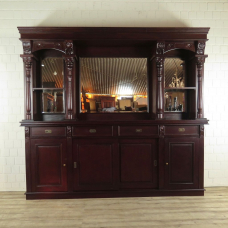 Empire Bar back wall Mahogany 2,60 m