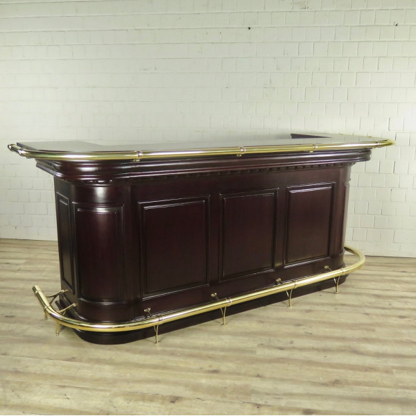 English bar Mahogany 2,60 m