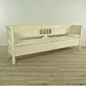 Storage bench untreated 2,55 m