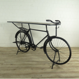 Bar table in the shape of a bike 2,05 m