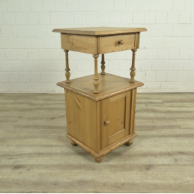 Night stand 1880 Pine wood