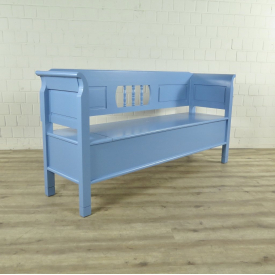 Storage bench blue 1,85 m