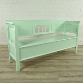 Storage bench Mint green 1,85 m