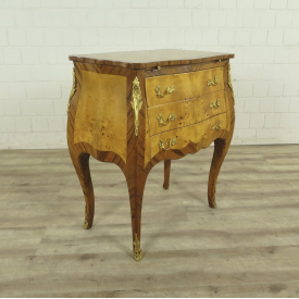 Dresser Baroque style Walnut wood 1,25 m