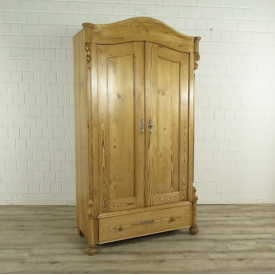 Wardrobe Louis Philippe 1860 Pine wood
