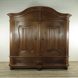 Wardrobe Baroque 1790 Oak wood