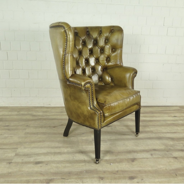 Chesterfield Sessel Lime