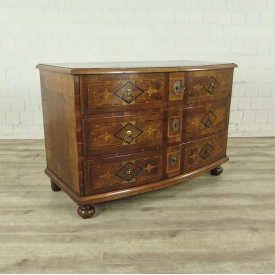 Chest of drawers Louis XVI Walnut wood