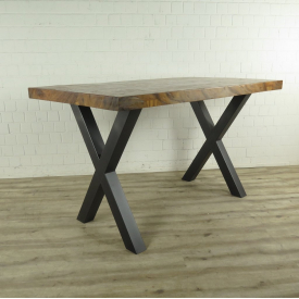 Bar table Teak wood 1,10 m x 0,96 m