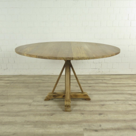 Kitchen table Teak wood Ø 1,40 m