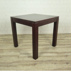 Dining table mahogany wood 0,80 m x 0,80 m
