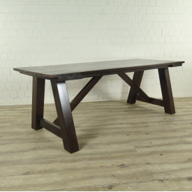 Dining table Oak wood 2,20 m x 0,90 m