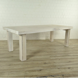 Dining table Oak wood 2,20 m x 1,00 m