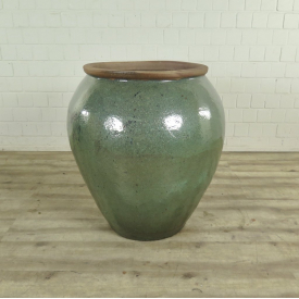 Planter Terracotta Green Ø 0,70 m