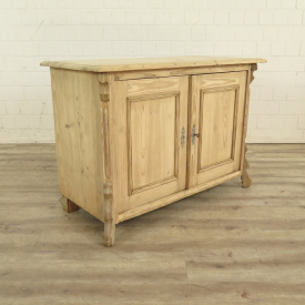 Sideboard Louis Philippe 1860 Pine wood