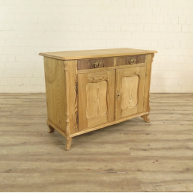 Kitchen cabinet Biedermeier 1850 Pine wood
