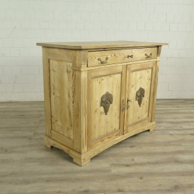 XL Kitchen Sideboard Jugendstil 1910 Pine wood
