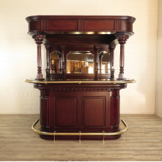 Home bar mahogany  2,15 m