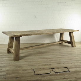 Dining table Oak wood 3,00 m x 1,00 m
