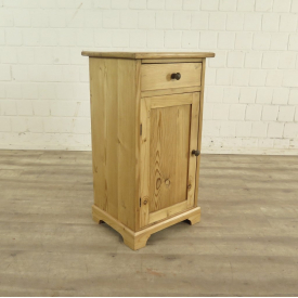 Night stand Jugendstil 1910 Pine wood