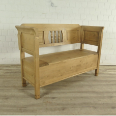 Storage bench Pine Wood 1,40 m