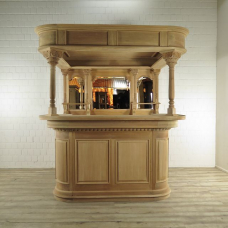 Home bar Mahogany 2,06 m
