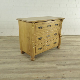 Chest of drawers Gründerzeit 1880 Pine wood