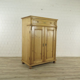 Computer cabinet 1,13 m Pine wood