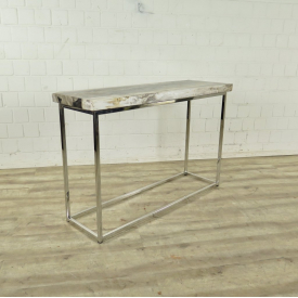 Side table Petrified Wood 1,20 m x 0,40 m