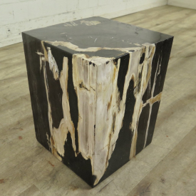 Side table petrified wood 0,30 m x 0,30 m