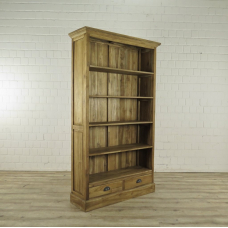 Bücherschrank Regal Teakholz 1,17 m