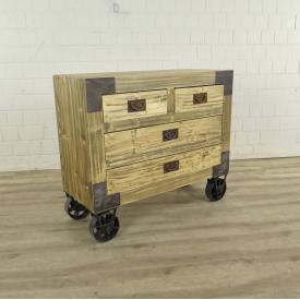 Kommode Sideboard Kiefer 1,00 m