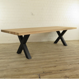 Dining table oak wood 2,80 m x 1,00 m