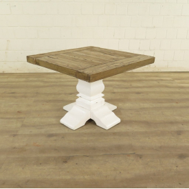 Side table pine wood 0,60 m x 0,60 m