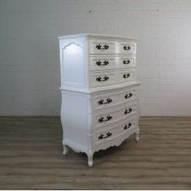 Chest of drawers baroque style Beech wood 1,06 m
