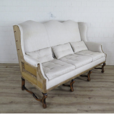 VAN THIEL & CO. Sofa Couch Altweiß