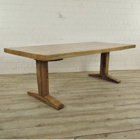 Dining table oak wood 2,20 m x 0,98 m