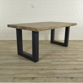 Dining Table Industrial Design Oak 1,80 m x 1,00 m