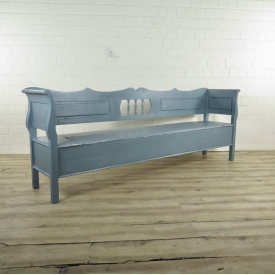 Wooden Bench Gray 2,50 m