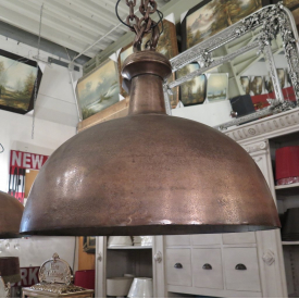Pendant Lamp Metal Copper 0,70 m