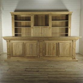 Shop cupboard & Counter Bella Teak 3,60 m