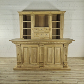 Store cupboard & counter Bella Teak 2,31 m