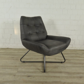 Chair Leather Anthracite 0,76 m